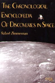Chronological Encyclopedia of Discoveries in Space cover