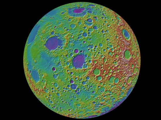 Global topography of the Moon