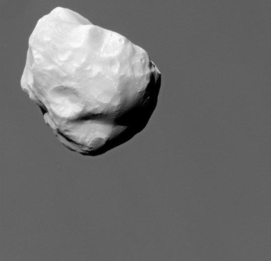 Saturn's moon Helene