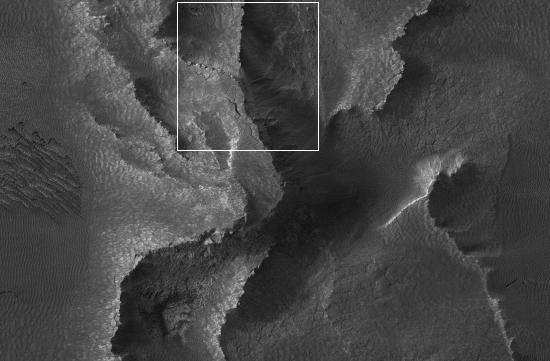 Martian cliffs