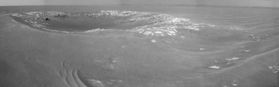 small crater on Mars