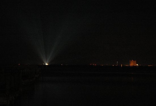 Christmas lights and VAB