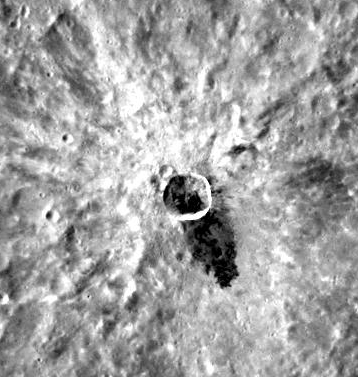 crater on Mercury