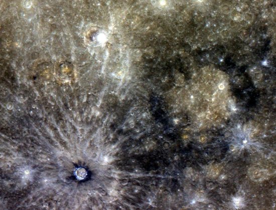 color image from Mercury