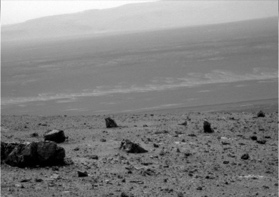 Endeavour Crater as seen by Opportunity