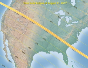 2017 Eclipse map