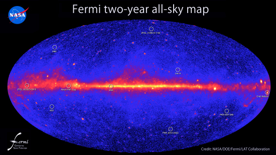 Fermi's two year sky catalog