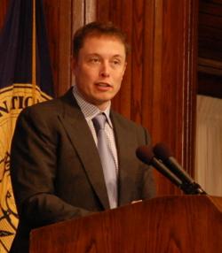 Elon Musk at National Press Club