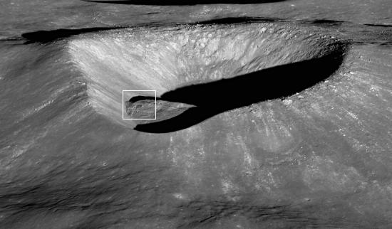 Ryder Crater