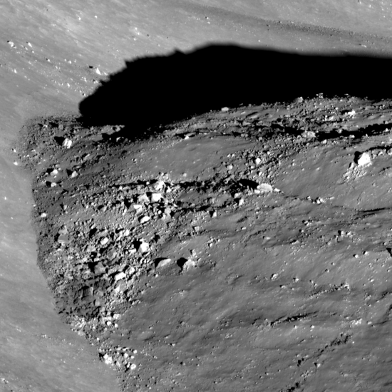 floor of Ryder Crater