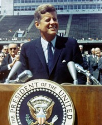 Kennedy at Rice University