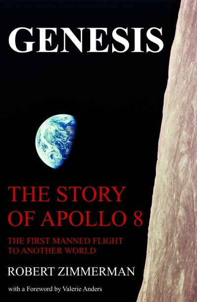Cover of Genesis the Story of Apollo 8
