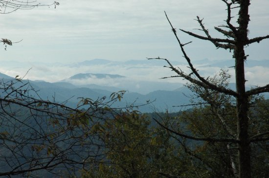 Smokies from the Appalachian trail