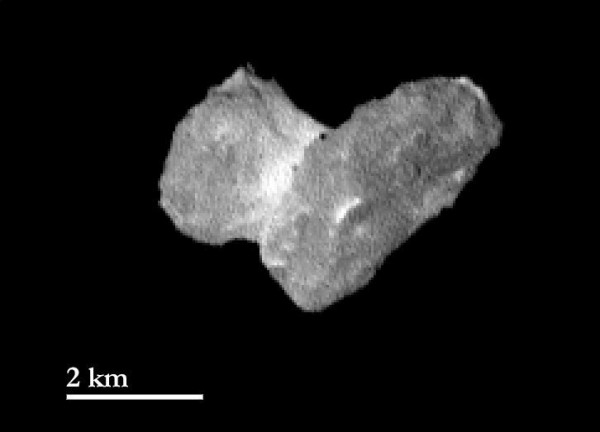 High Resolution of 67P, July 29, 2014