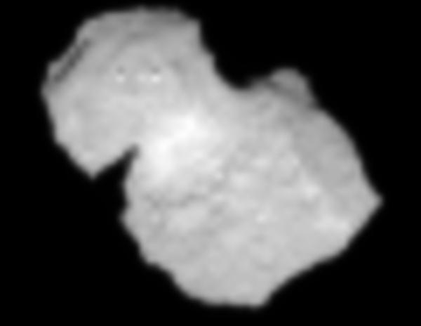 Comet 67P on July 31