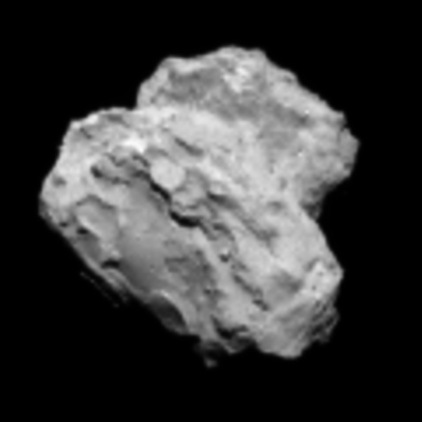 Comet 67P on August 2