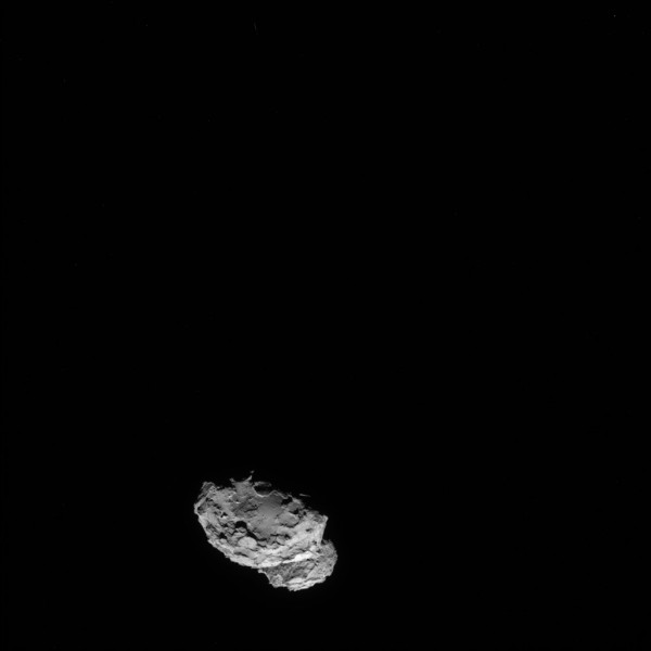 Comet 67P/C-G at 126 miles
