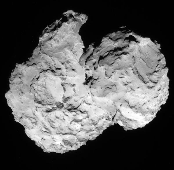 67P from 52 miles, August 7, 2014