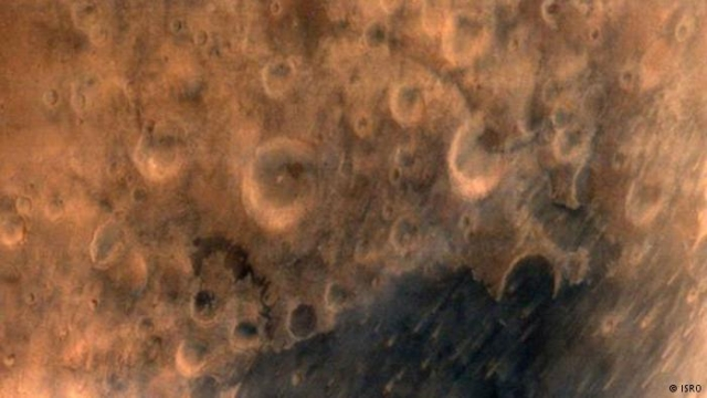 Mangalyaan's first image of Mars