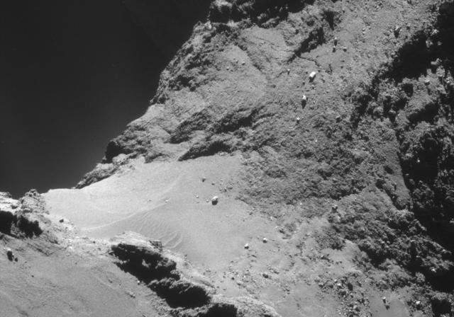 Comet 67P/C-G's neck