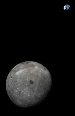Earth/Moon as seen by Chang'e 5