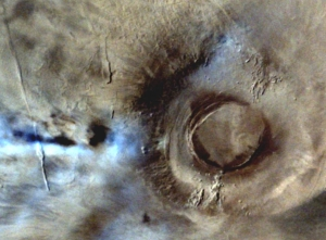 Western slopes of Arsia Mons
