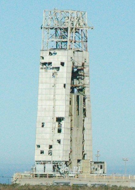 Abandoned Atlas-A launchpad