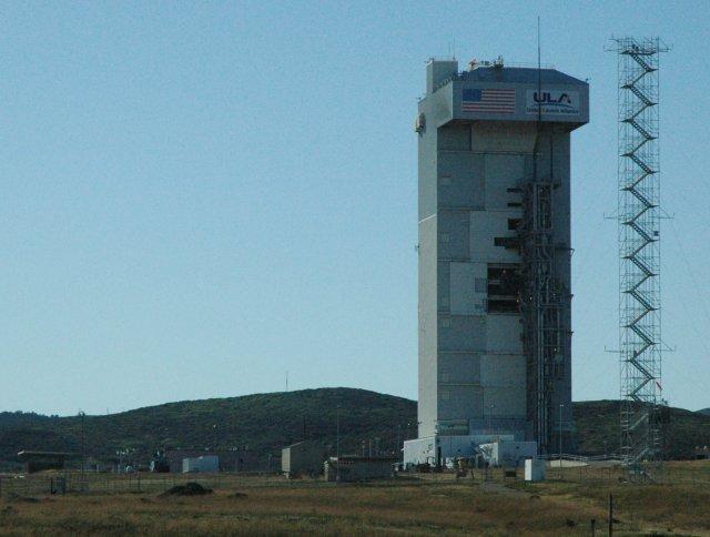 Atlas V launchpad