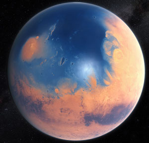 The lost oceans of Mars