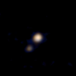 Pluto and Charon, April 9, 2015