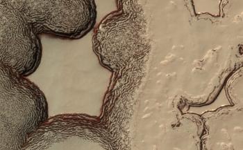 Mars South Pole 2015