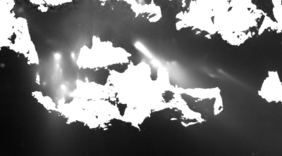 jets from Comet 67P/C-G