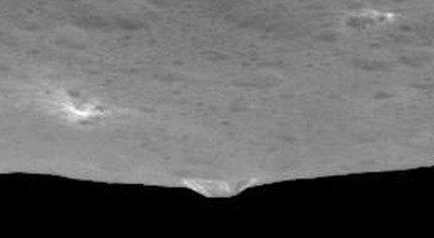 A mountain on Ceres
