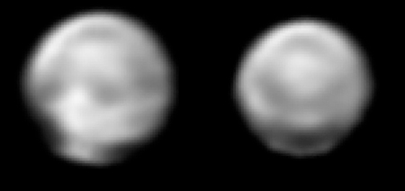 Latest Pluto images