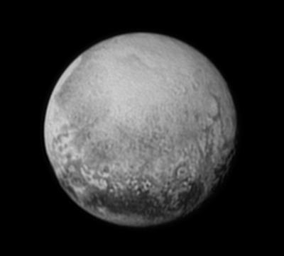 Pluto on July 11