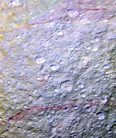 Red arcs on Tethys