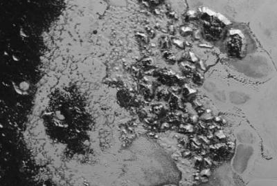 The edge of Tombaugh Regio