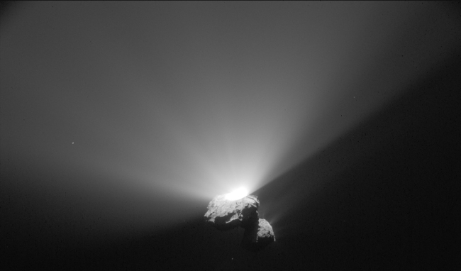 Outburst on Comet 67P/C-G