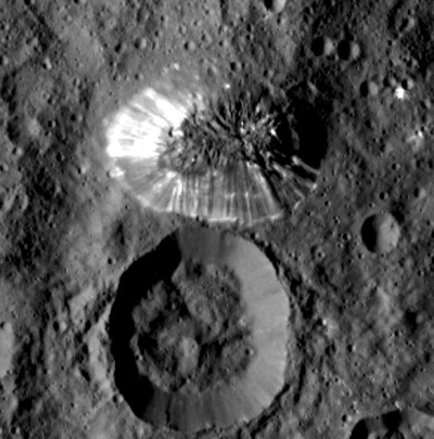 The Lonely Mountain on Ceres
