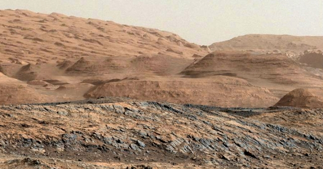 The future terrain at Mt Sharp