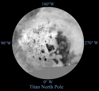 Titan's North Pole