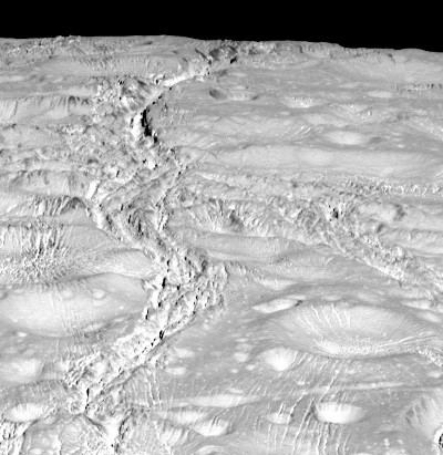 Enceladus's North Pole