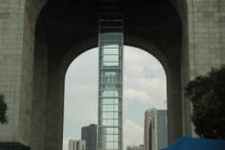 Revolution Monument elevator