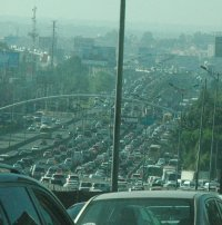 More Mexico City traffic