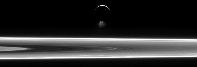 Enceladus's jets