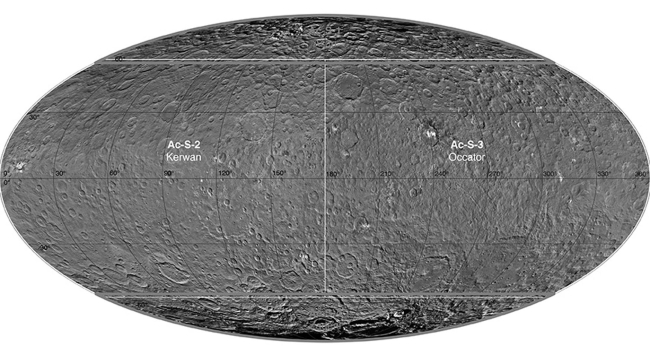 Ceres's first atlas