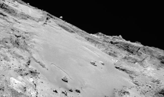 Comet 67P/C-G's active surface