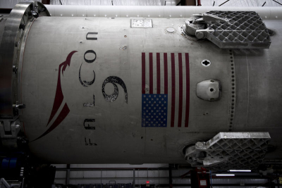 Recovered Falcon 9 first stage