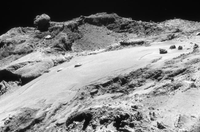 Close-up Comet 67P/C-G