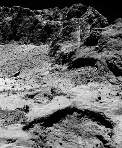 Close-up of Comet 67P/C-G